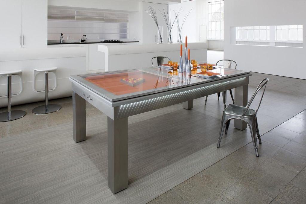 Billard Toulet Lambert Dans Billard Toulet Sur Idée Décoration Maison - Table billard salle a manger pour idees de deco de cuisine