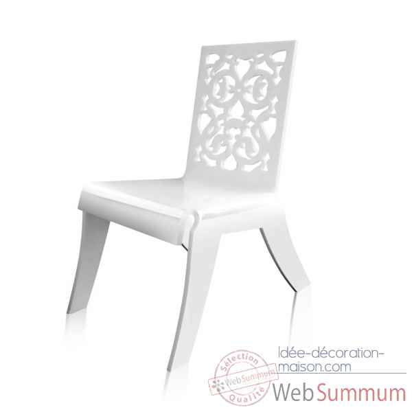 Relax Chair Jardin Dentelle Blanche Acrila Rcjdb