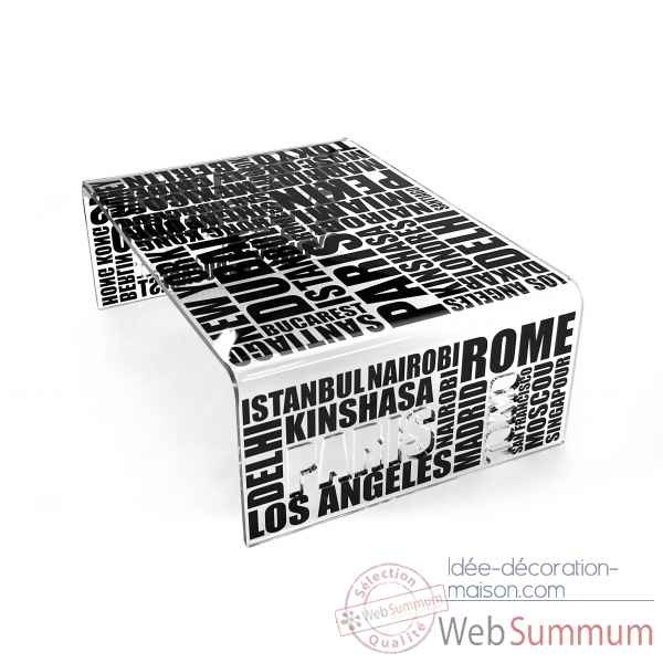 Table basse city Acrila -Acrila109