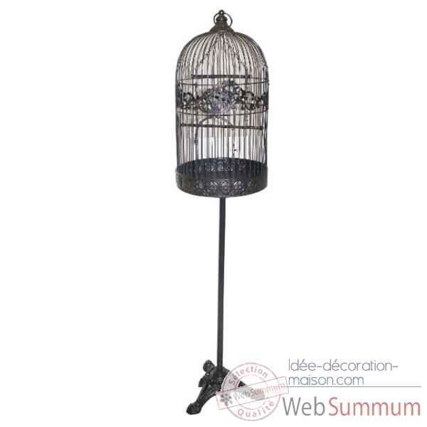 cage oiseaux sur pied antic line dans collection oiseau sur id e d coration maison a. Black Bedroom Furniture Sets. Home Design Ideas