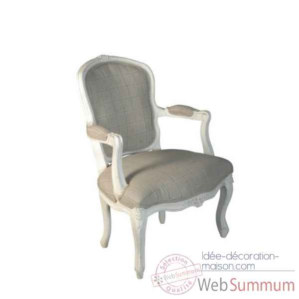 "Fauteuil ""du barry\"" Antic Line -CD338"
