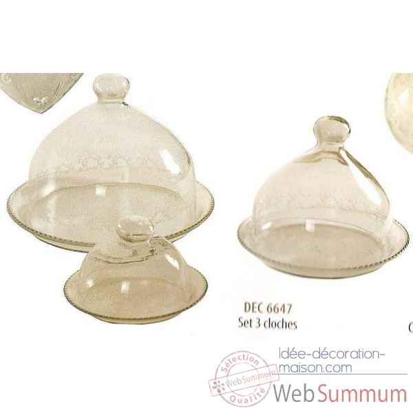 Set 3 cloches Antic Line -dec6647