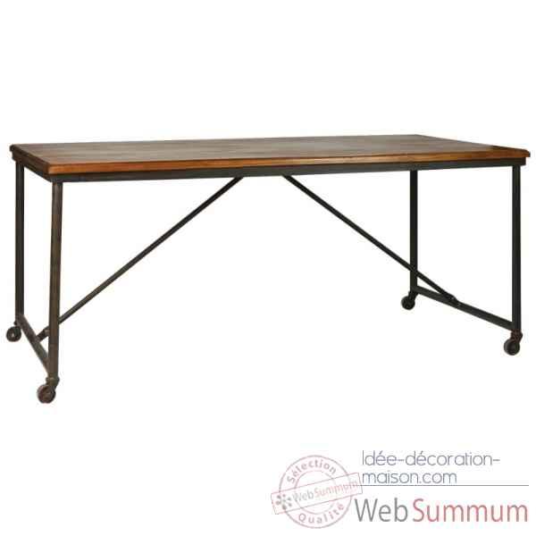Table en bois flotté Bali dans Table de Meuble en bois sur Idée décoration ma