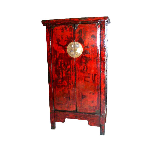 Armoire 2 portes troite style chine chn058 dans armoires for Meuble chine design