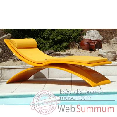 Chaise Design Noire Slidezoe080 Meuble Terrasse Design