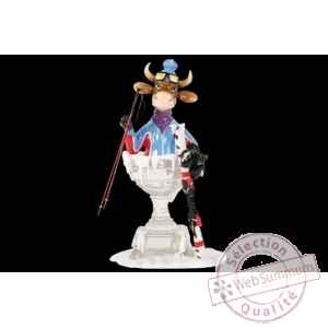 Figurine Vache 20cm and the winner is… Art in the City 84142