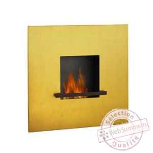Cheminee fire & flame 24 karat pur feuille d'or Artepuro -21.104-00