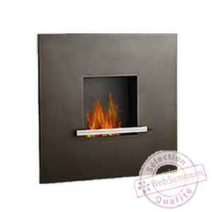 Cheminee fire & flame anthracite Artepuro -21.101-00