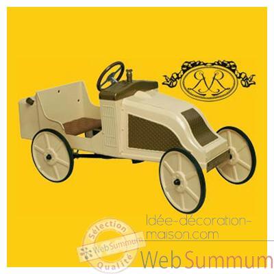 Voiture p dales renault en m tal 1906ak dans voitures for Decoration maison voiture