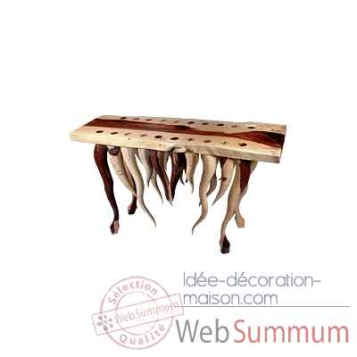 Table en bois Bali -Tisch