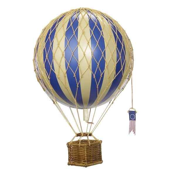 Replique Montgolfiere Plus Leger que l\'Air Bleu 18 cm -amfap161d