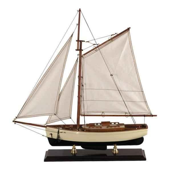 R plique bateau yacht classique 1930 petit modele for Decoration marine maison