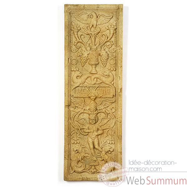 Decoration murale-Modele Angel Wall Decor, surface granite-bs3089gry