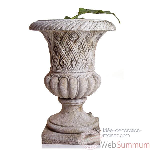 Vases-Modele Spring Urn, surface pierre romaine-bs2131ros