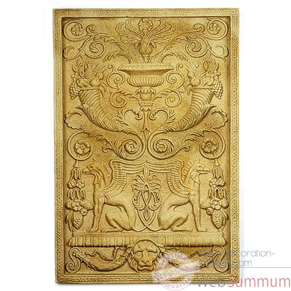 Decoration murale-Modele Wall Decor-Griffin Motif, surface granite-bs2602gry