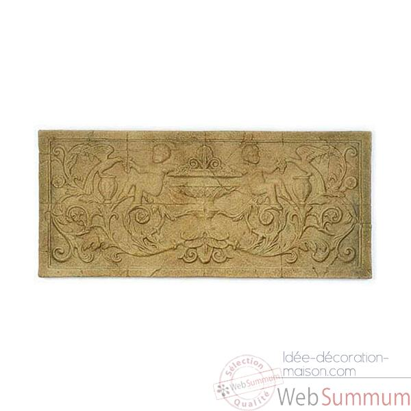 Decoration murale-Modele Cherub Wall Decor, surface gres-bs3086sa
