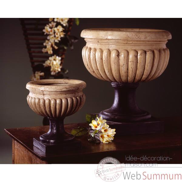 Vases mod le bath urn surface pierres romaine combin s au for Decoration maison romaine