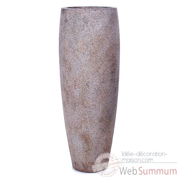 Vases-Modèle Mati Planter,  surface granite-bs3114gry