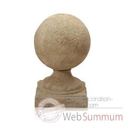 Fontaine-Modele Ball Final Fountainhead, surface gres-bs3178sa