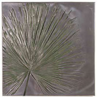Decoration murale-Modele Anahaw Wall Plaque, surface aluminium-bs3235alu