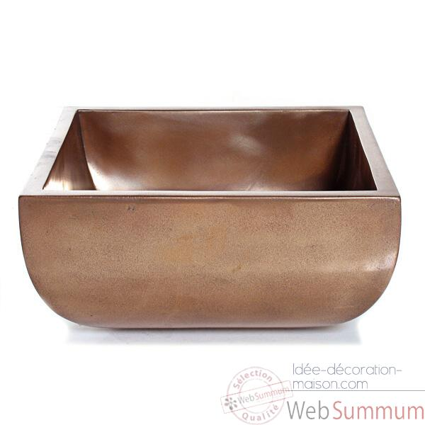 Vases-Modele Nara Bowl Junior, surface bronze nouveau-bs3308nb