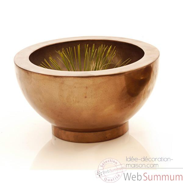 Vases-Modele Paso Bowl Large, surface bronze nouveau-bs3348nb