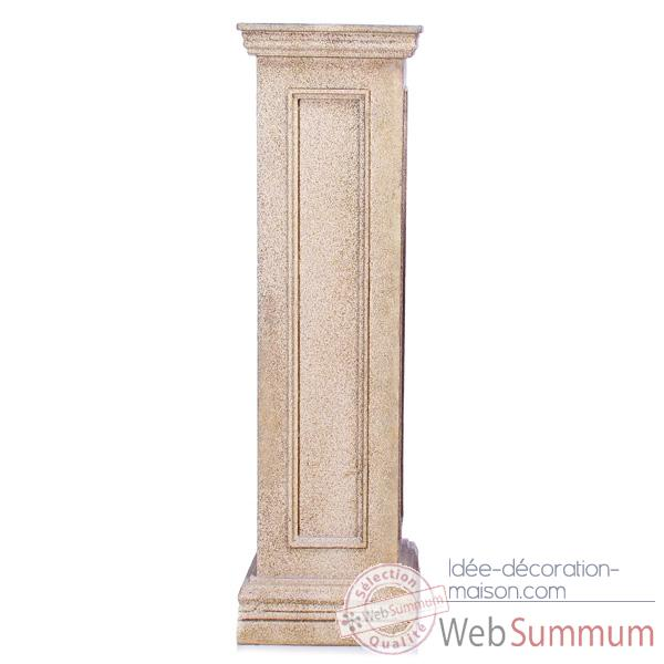 colonne et piedestal bristol pedestal tall granite bs1033gry