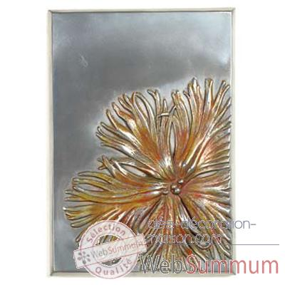 Décoration murale Dianthus Wall Plaque, aluminium -bs2391alu
