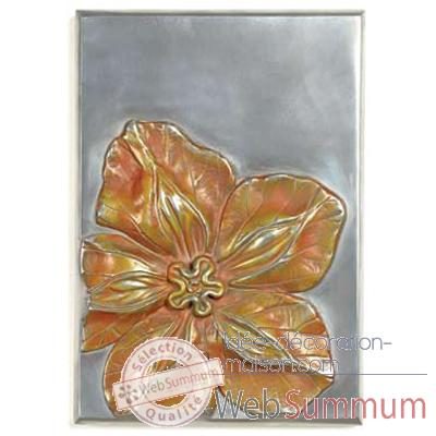 Decoration murale Cobaea Wall Plaque, aluminium -bs2392alu