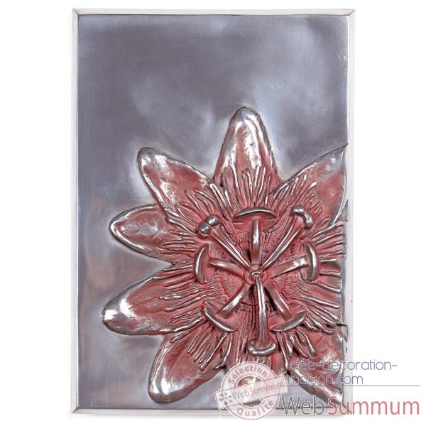 Decoration murale Passiflora Wall Plaque, aluminium -bs2394alu