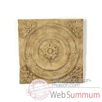 Decoration murale Rondelle Wall Plaque, gres -bs3166sa