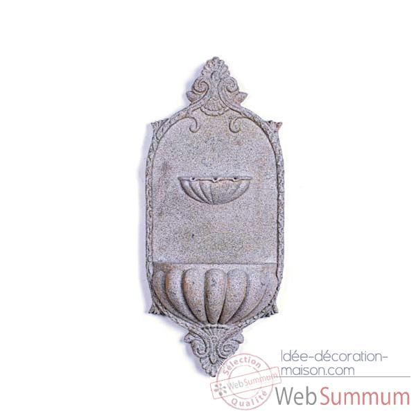 Fontaine Michellini Wall Fountain, granite -bs3128gry