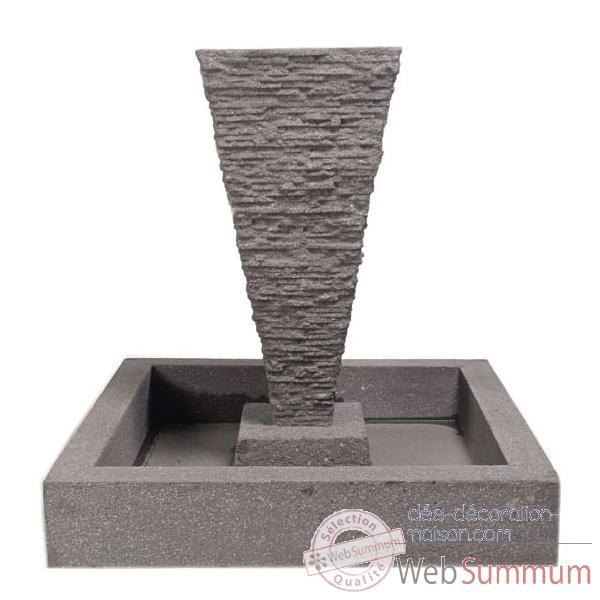 Fontaine jardin aluminium dans fontaines jardin et for Decoration exterieure fontaine terrasse