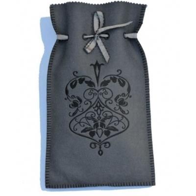 Bouillotte medaillon gris gris medru0505 dans bouillote - Les bouillottes de bea ...