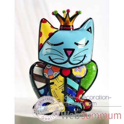 Figurine chat royalty edition limitee Britto Romero -339026