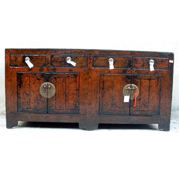 Buffet 4 portes et 4 tiroirs style chine chn036 dans for Buffet meuble chinois