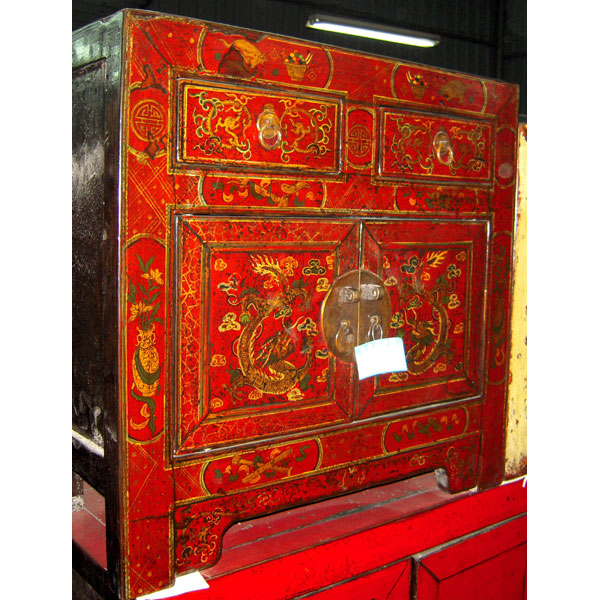 armoire mongole 6 portes style chine c0910 sur id e d coration maison table ronde pied laque. Black Bedroom Furniture Sets. Home Design Ideas