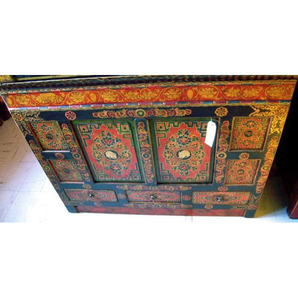 5 tibetain rites poster om namah shivaya tibetain calligraphie - Idee deco buffet ...