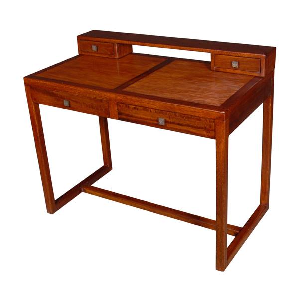 Bureau stri dessus amovible avec 4 tiroirs meuble d for Meuble bureau avec tiroirs