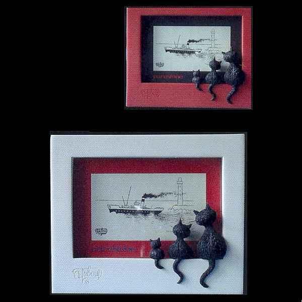 Vid o cadre photo dubout rouge dub42 sur id e d coration - Idee deco cadre photo ...