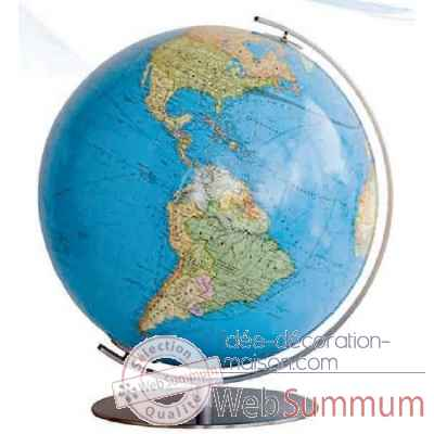 Globe lumineux colombus diam 34 collection classic duo co203481f