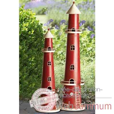 "Bougeoir ""lighthouse"" Casablanca Design -74373"