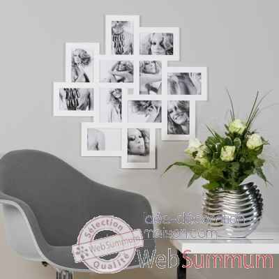 "Cadre photo ""roulette"" Casablanca Design -51633"