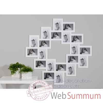 "Cadre photo ""roulette"" Casablanca Design -51634"