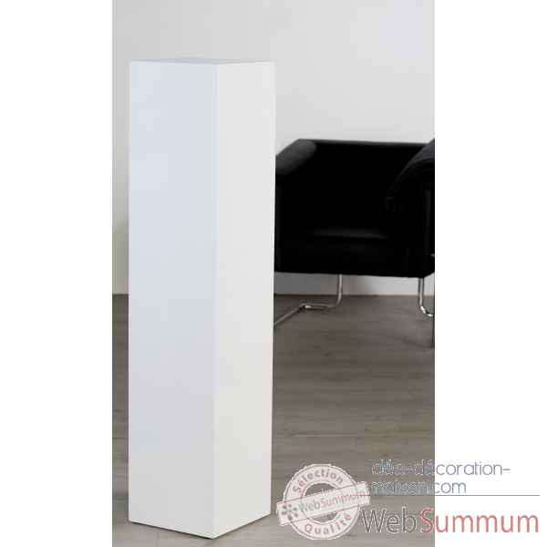 Colonne mdf blanc brillant 120 cm Casablanca Design -51939