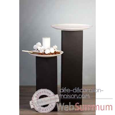 "Colonne ""tower\"" metal brun 70 cm Casablanca Design -54722"