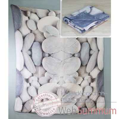 "Couverture ""stones"" Casablanca Design -28537"