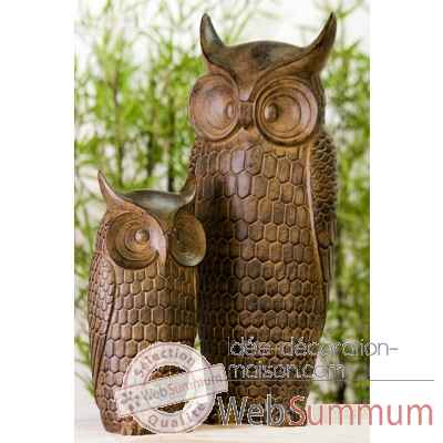 "Figure ""hibou"" Casablanca Design -59818"