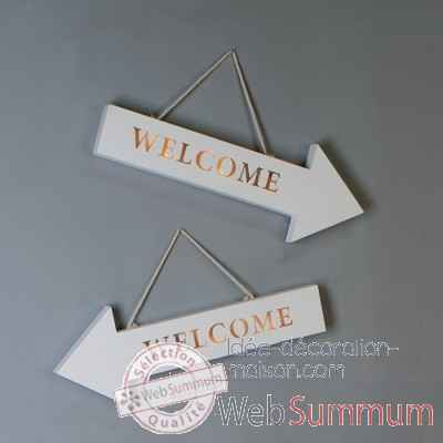 "Fleche led ""welcome"" Casablanca Design -71455"