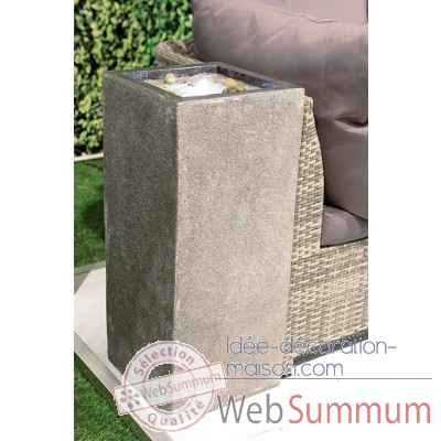 "Fontaine ""nature"" en fibre de verre Casablanca Design -79151"